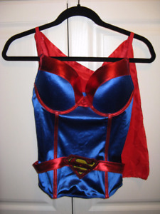 Supergirl corset outfit  for halloween or party