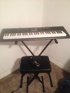 Brand New Casio Keyboard and Accessories