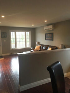 Year old duplex with garage available August 1, 2016.