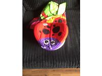 Lamaze spin and play tummy time gym