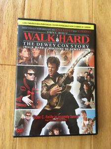 """Walk Hard (The Dewey Cox Story)"" - 2 disc dvd - like new - $4"