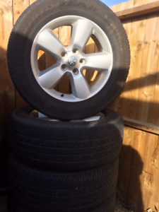 """20""""  Dodge Ram from 2014 Rims and Tires 275/60R20"""