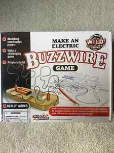 BRAND NEW - WILD SCIENCE ELECTRIC BUZZWIRE GAME