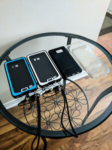 Galaxy Note 5 Spigen, Clear and WaterProof Cases