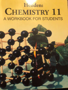 Hebden Chemistry Textbook for sale