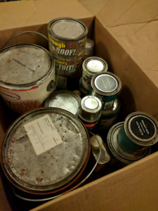 Paint, contact cement, roof seal and more. - FREE box