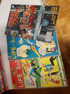 Archie and star trek comics