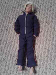 Palitoy Vintage Helicopter Pilot Action Man & accessories-1960's