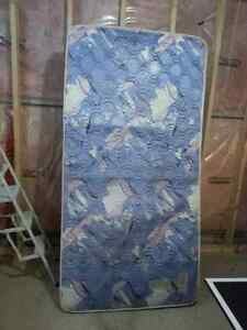 Single Box and Mattress from smoke & pet free house for sale