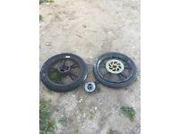Two wheels for lexmoto bike