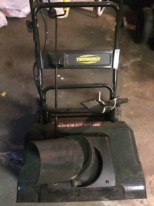 "Electric Yardworks 20""Snow Thrower"