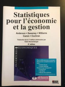 Statistique pour l'économie et la gestion