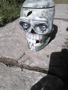 Crâne en ceramique