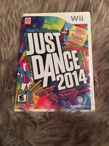 just dance 2014 and number 2 ...wii games