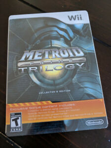 Metroid Prime Trilogy Collector's Edition - Steelbook - Wii