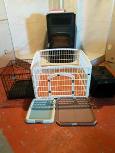Cage pour éleveur très pratique