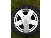 Ford Fiesta 15 inch alloy wheel