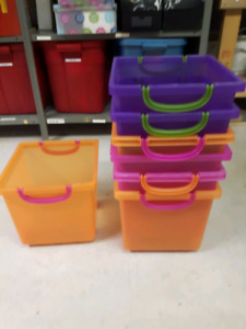 Stackable organization bins