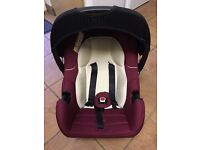Mothercare car seat and base