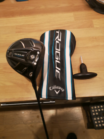 Callaway rouge subzero 9.0 degrees driver, with new shaft