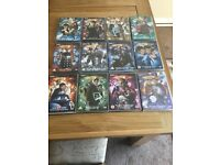 12 Dr who dvds
