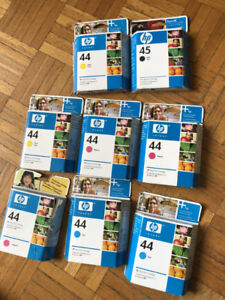 LOT ENCRE NEUF HP 44 51644M 51644C 51644Y HP PRINTER INK CARTRID