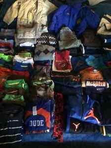 Large lot of boy size 4 clothes