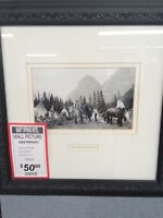 Framed Photo from the Historic Banff Springs Hotel