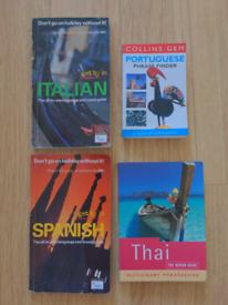Four phrase books