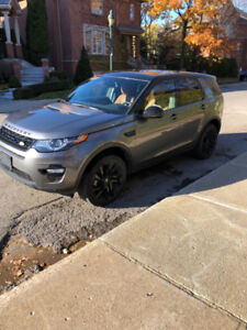 2016 Land Rover Discovery Sport - buy or take over my lease