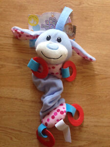 Plush teething doll - new in package