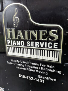 Piano sales/tuning and moving