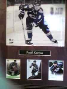PAUL KARIYA HOCKEY CARD COLLECTION.