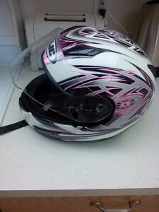 Womens Small Full Face Cyclone CL15 Helmet
