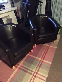 Tub chairs x2 for sale £30