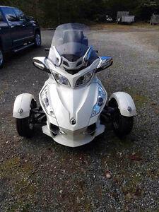 2012 Can am Spyder RT Ltd