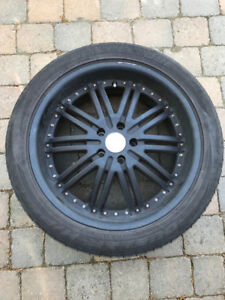 LANDROVER RANGE ROVER 20 INCH MAGS WHEELS SET OF 4 + 3 NEW TIRES