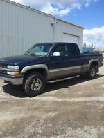2000 chev 2500 4x4 for sale