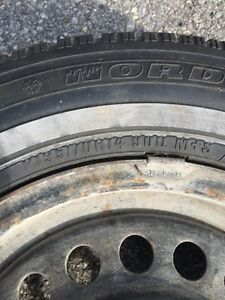 4 Nordic Wintertrac tires & rims Peterborough Peterborough Area image 3