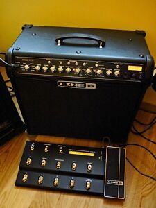 Line 6 Spider IV 75W amp with floorboard