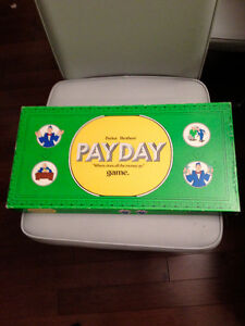 vintage Payday game from the 1970's