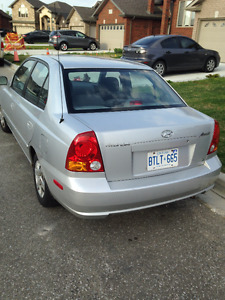 2003 Hyundai Accent Sedan