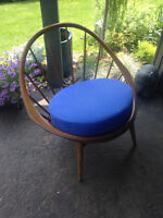 Mid Century Ib Kofod Larsen 'Hoop' Chair