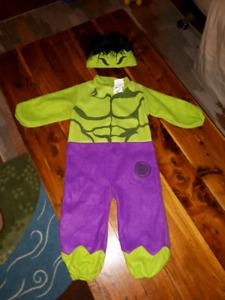 One piece hulk costume 12-18 months