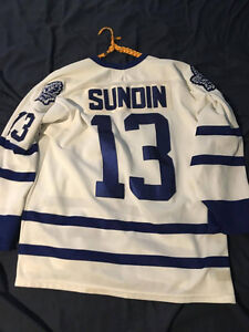 Toronto Maple Leafs Mats Sundin Jersey - Size L