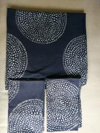 Debenhams Kingsize Bed LinenSet Duvet Cover Two Pillow Case 100%Cotton