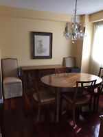 Traditional Dining Room Suite