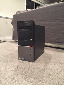 Lenovo computer, 250 GB,windows 7.