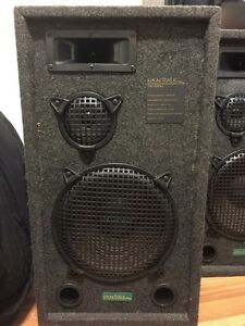 Bar speakers