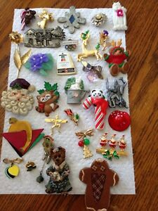 Brooch and pin collection